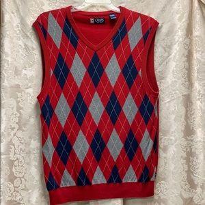 Chaps Argyle Sweater Vest